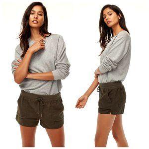 ARITZIA COMMUNITY 100% Cotton Black Shorts